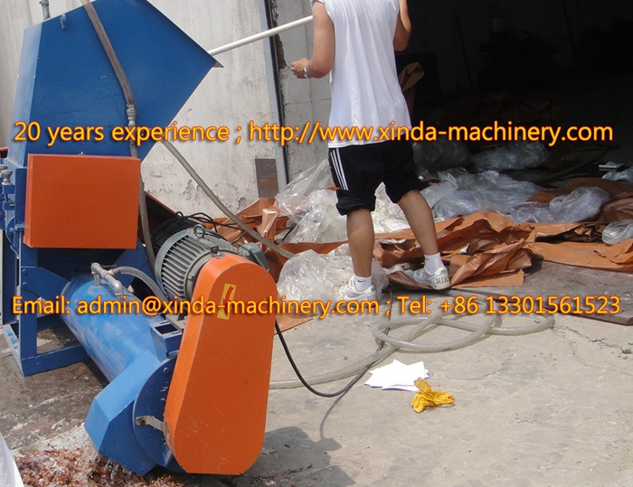 PE PP film crusher & washer