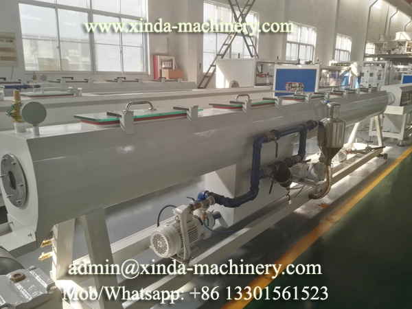 PE PP pipe machine