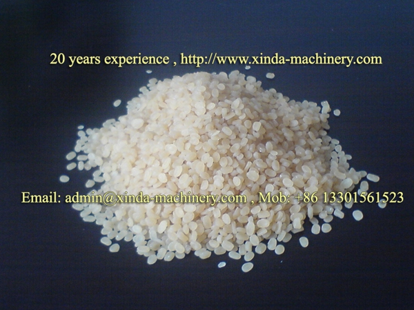 PE PP granules production machine