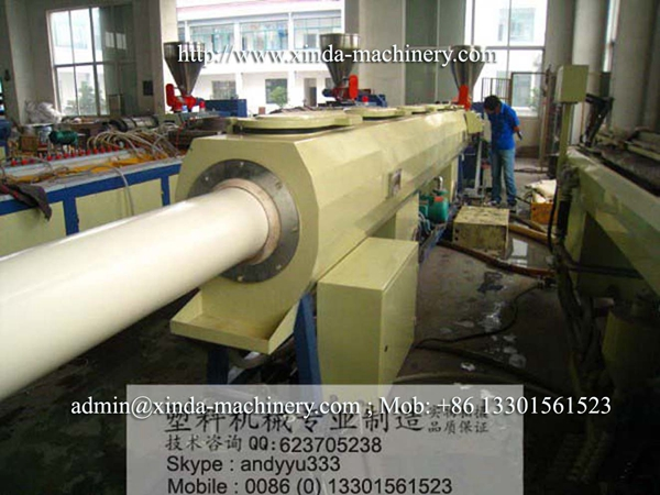 PVC pipe line 200-630mm