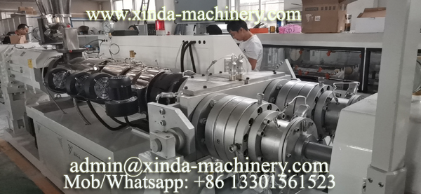 PVC pipe making machine 60-110mm