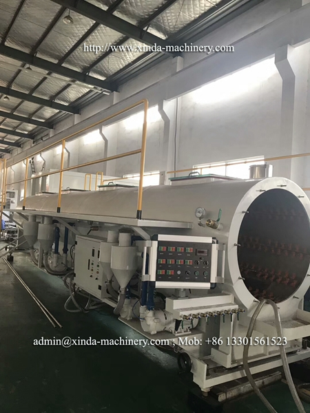 630-1000mm PE PP pipe production line