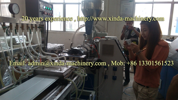 PVC ceiling panel extrusion line
