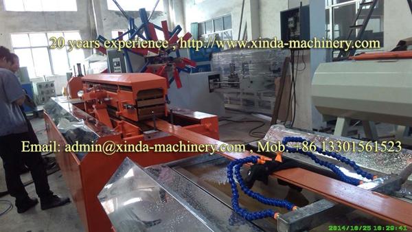 WPC profile making machine