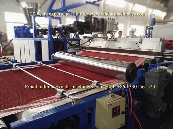 carpet coating TPR machine
