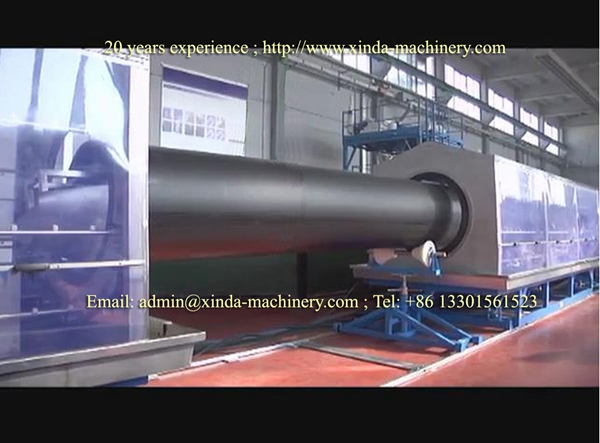 630mm HDPE PE pipe making machine