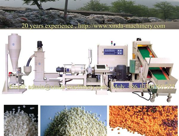 PE PP film recycled machine