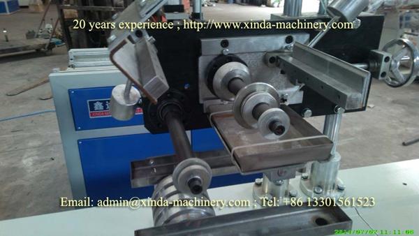 PVC U type edge banding extrusion line