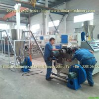 PVC granules making machine
