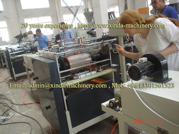 PVC edge banding printing line