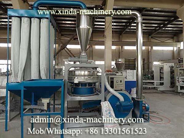 plastic mill machine