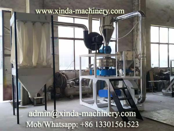 PE PP mill machine