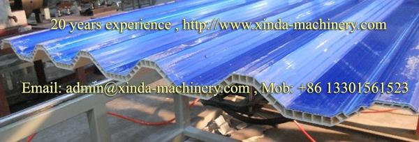 PVC hollow tile production line
