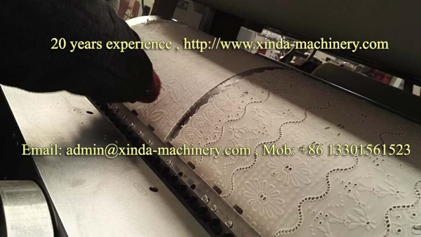 PVC tablecover making machine