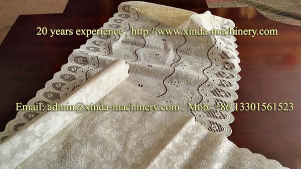 PVC gilding tablecloth production line