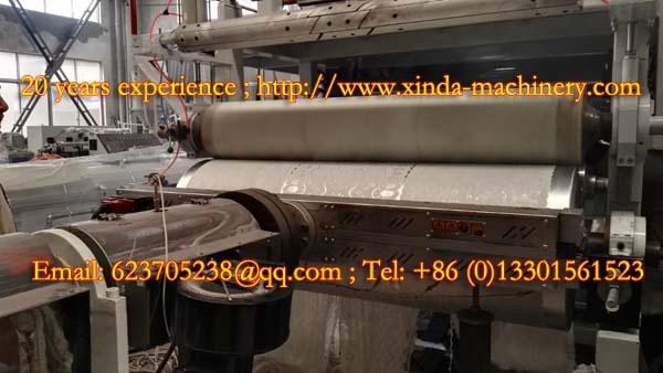 PVC lace gilding tablecloth production machine
