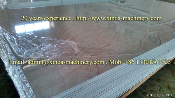 PVC imitation marble board making machine