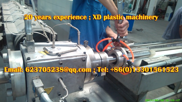 TPU screw pipe production machine