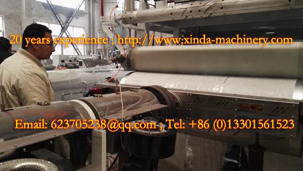 PVC gilding cup mat production machine