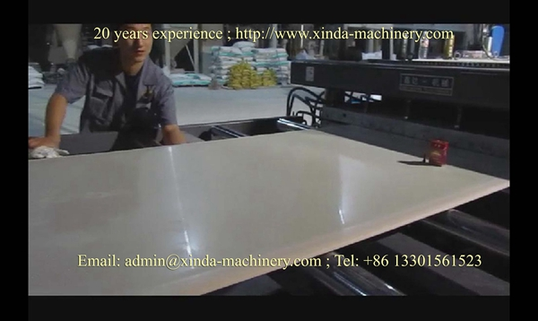 PVC foam board extrusion line