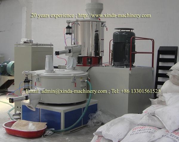 Pvc Mixer Machine Xinda Machinery Pvc Foam Board