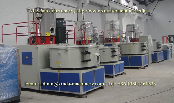 vertical mixer unit