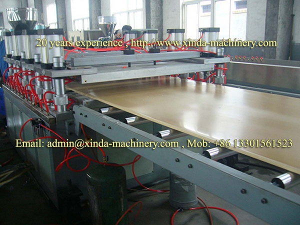 WPC foam board production line