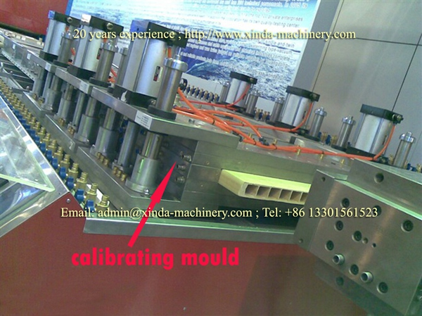 WPC hollow door board extrusion line