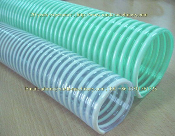 PVC twine pipe production line