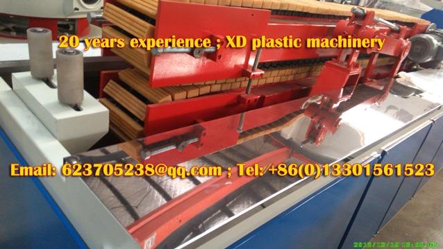 rubber block hauling unit