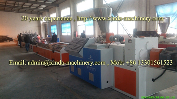 PVC marble profile extrusion line