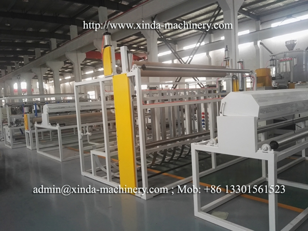 carpet backing TPR machine