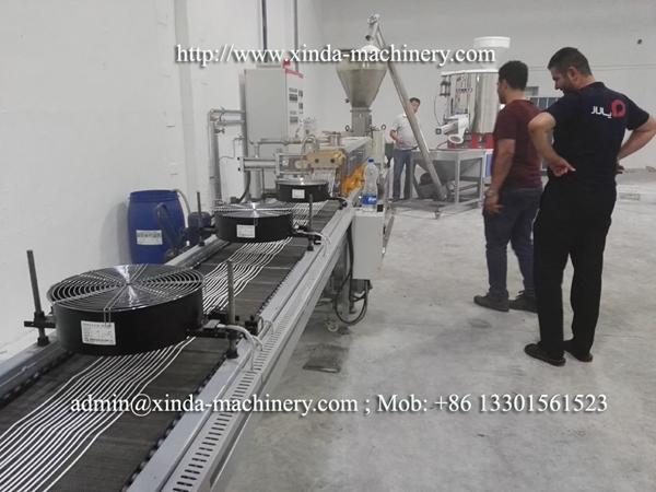 TPE TPR granules making machine