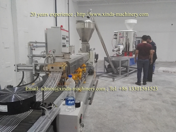 TPE TPR granules making machine