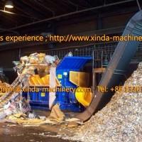 double shaft shredder