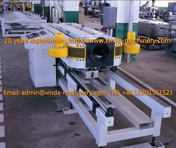 PVC corrugated pipe line