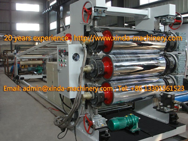 PET packing sheet line