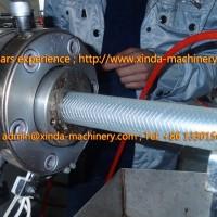 PVC fiber soft pipe production line