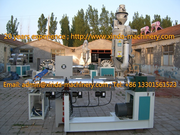 PVC fiber pipe making machinery