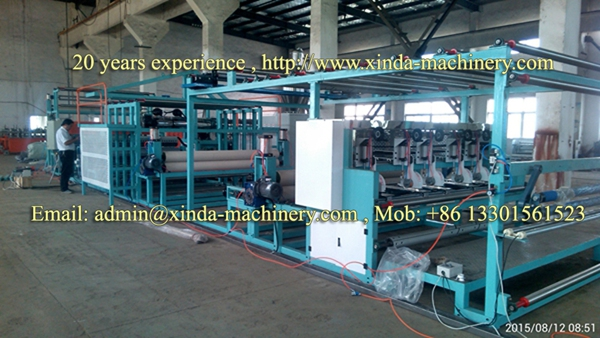 carpet coating TPR machine