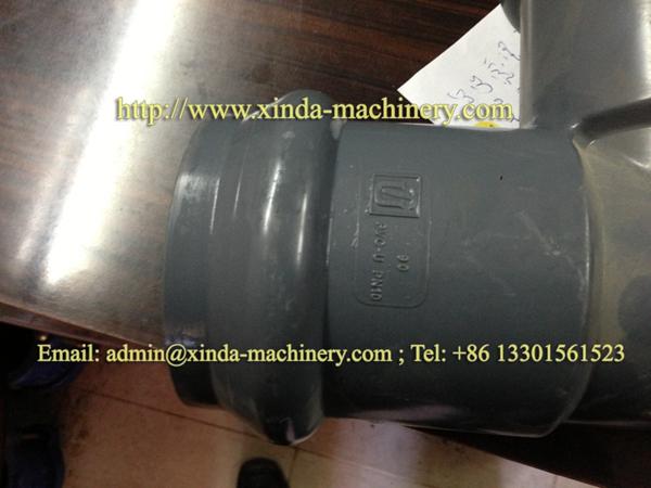 PVC pipe belling machine