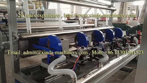 carpet laminating PVC TPR machine