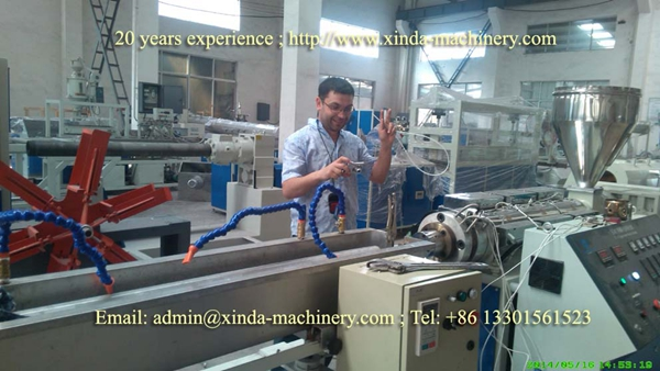 PE PP profile making machine