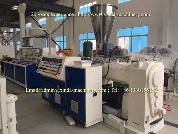 PE PP profile production line