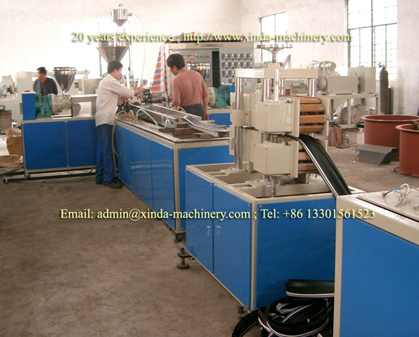PVC soft waterstop production line