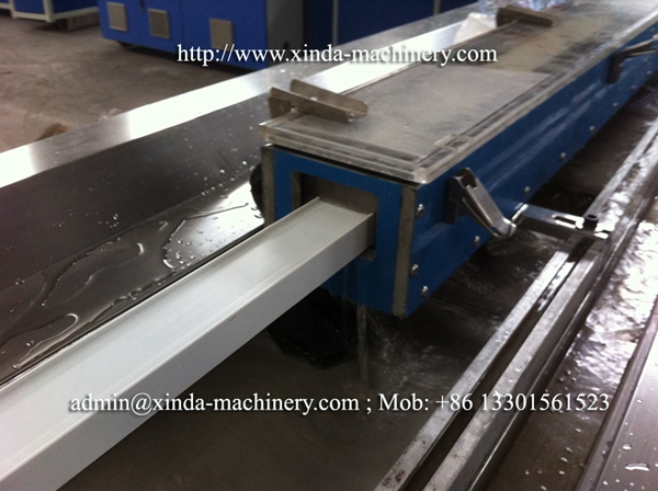 PVC door frame production line