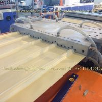 PP roof tile making machine