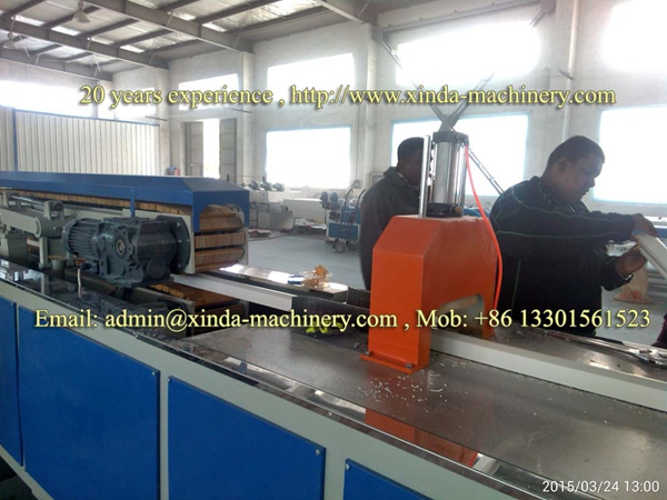 PVC Door/window Frame Profile Making Machine