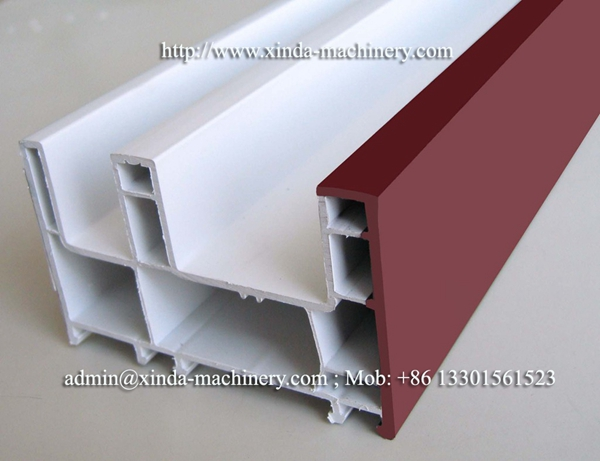 PVC frame production line