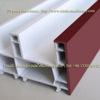PVC door window frame making machine